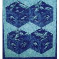 DIAMONDS IN MOTION QUILT PATTERN*