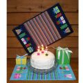 Birthday Cake Mat Quilt Pattern