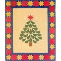 STARRED AND FEATHERED CHRISTMAS TREE QUILT PATTERN