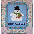 Got Snow? Quilt Pattern by Amy's Wagon Wheel Creations