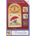 Seasonal Welcome Sign Quilt Pattern
