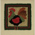 ROOSTER PUNCHNEEDLE  COMPLETE KIT