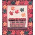 MAPLE LEAF BASKET QUILT PATTERN