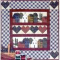 HEARTS AND HOMES PATTERN