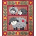 Twin Lambs Wall Quilt Kit