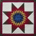 Lone Star Quilt Pattern Kit