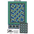 All For One 5 Sizes Quilt Pattern