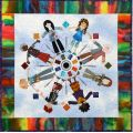 Colorific Quilters #4 Circle of Friends Series Applique Pattern