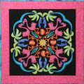 Fabulous Flamingos #7 in the Circle of Friends Series Applique Pattern