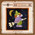 Li'l Woolies October Witch Ride Wool Wall Hanging Pattern