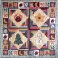 PIECES OF WINTER QUILT PATTERN*