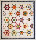 Sky Diamonds Quilt Pattern