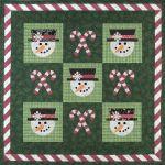 Mr. Snowman Quilt Pattern*