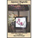 Japanese Magnolia Punch Needle Pattern
