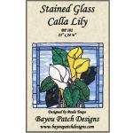 Stained Glass Calla Lily Pattern