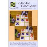 Tic-Tac-Toe Floor Game Pattern