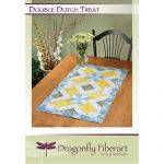 Double Dutch Treat Table Runner Quilt Pattern Card