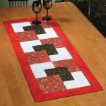 Courtyard Table Runner Quick Card Pattern