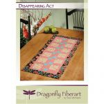 Disappearing Act Table Runner Quilt Pattern Card