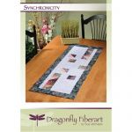 Synchronicity Table Runner Quilt Pattern Card