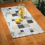 Four Better or Worse Table Runner Quick Card Pattern