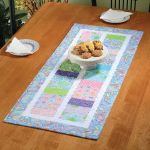 How Charming to Sew You! Table Runner Quick Card Pattern
