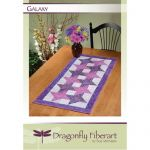 Galaxy Table Runner Quilt Pattern Card