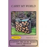 Carry My World Sewing Tote Bag Quilt Pattern