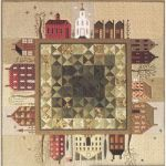 QUILTED VILLAGE  QUILT PATTERN (SET OF 12)