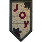 JOY STAINED GLASS PATTERN*