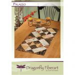 Palazzo Table Runner Quilt Pattern Card