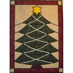 CHRISTMAS TREE STAINED GLASS PATTERN*