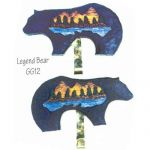 LEGEND BEAR Quilt Hanger*