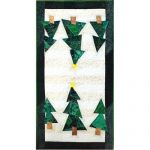 Funky Tree Farm Table Runner Quilt Pattern