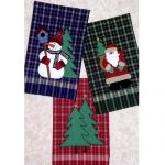 WOODLAND CHRISTMAS APPLIQUE