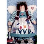 SPRING ANGEL DOLL  PATTERN