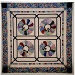 Dresden Beauties Wall Quilt Pattern