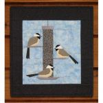 Chickadee Treat Wall Hanging Quilt Pattern