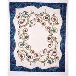 Jacobean Spring Wall Quilt Pattern