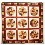 Zinnia Patch Wall Quilt Pattern