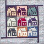 HOMESPUN HOUSES PATTERN*