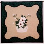 Magnolias Wall Quilt Pattern