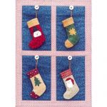 STOCKING ORNAMENTS 2001 PATTERN