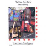 CROSS TOWN CARRY - CLAUDIA'S BAG PATTERN