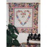 Heart in Bloom Wall Quilt Pattern
