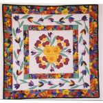 Spring Bouquet Wall Quilt Pattern