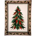 Sage Country Christmas Tree Wall Quilt Pattern