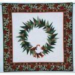 Peace Dove Wreath Wall Quilt Pattern