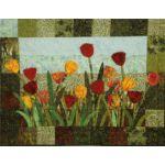 Tulip Fields Wall Quilt Pattern