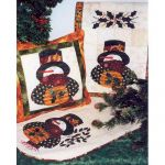 SNOWMAN TABLE RUNNER QUILT PATTERN